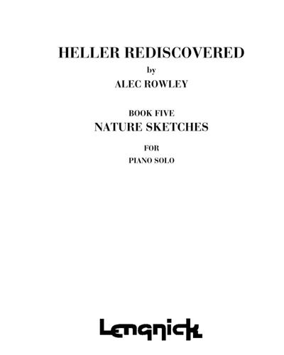 Heller Rediscovered, Book 5
