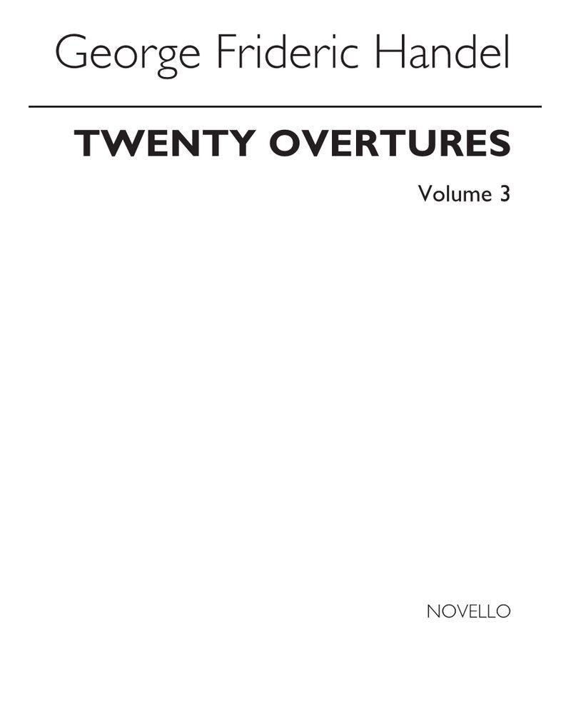 20 Overtures, Vol. 3