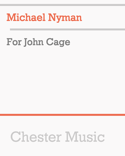 For John Cage