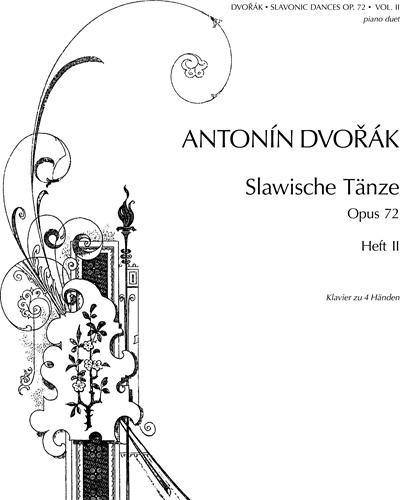 Slavonic Dances, op. 72 Nos. 5-8