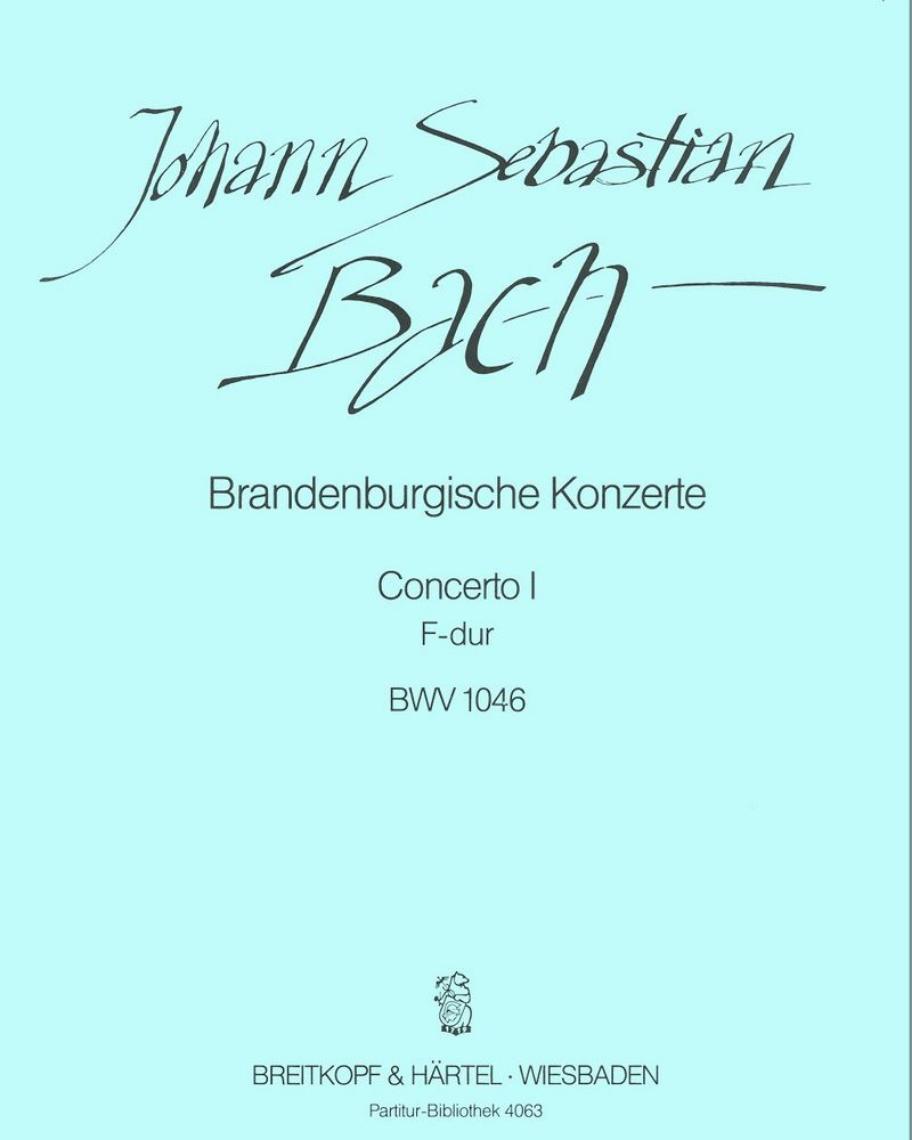 Brandenburgisches Konzert Nr. 1 F-dur BWV 1046