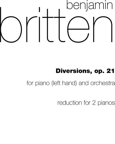 Diversion, Op. 21