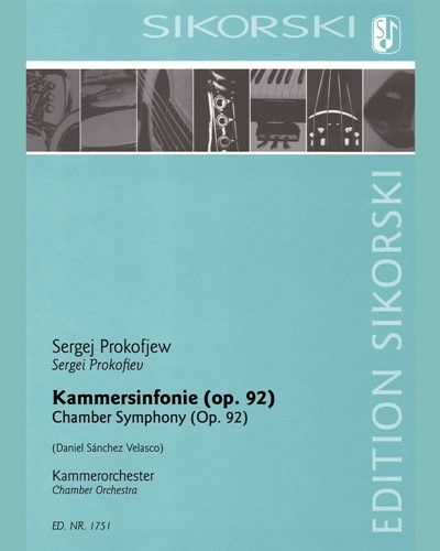 Chamber Symphony (after the String Quartet No. 2 in F major, op. 92)