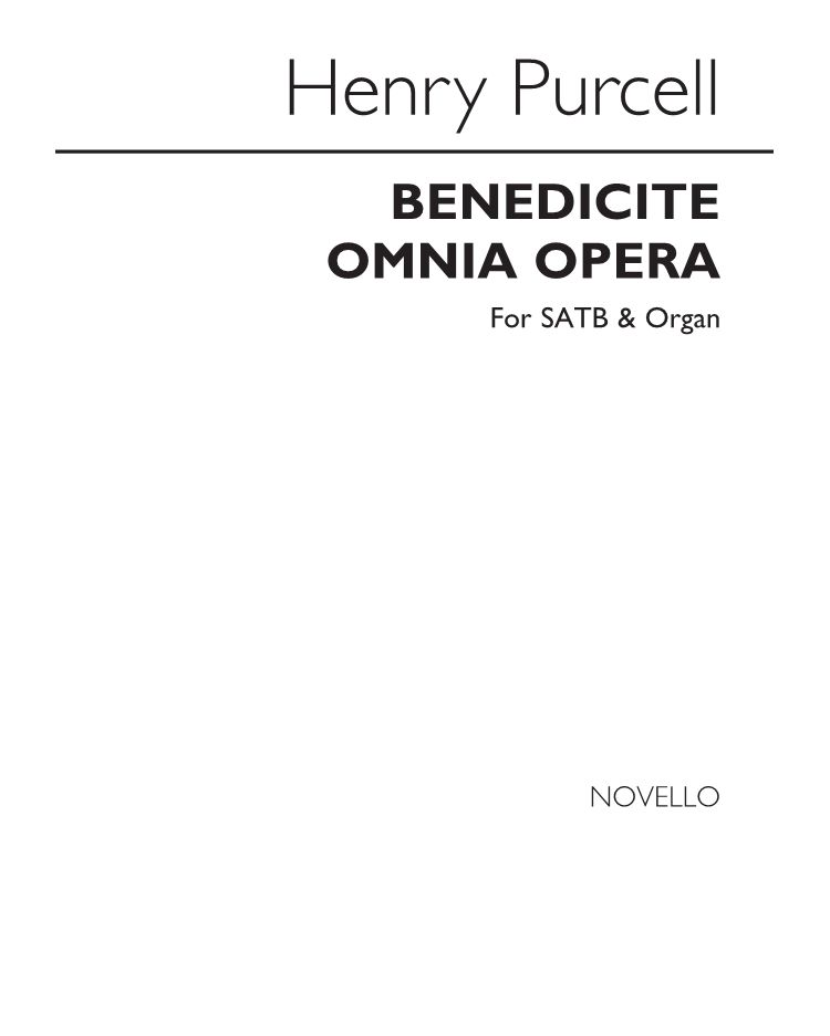 Benedicite Omnia Opera