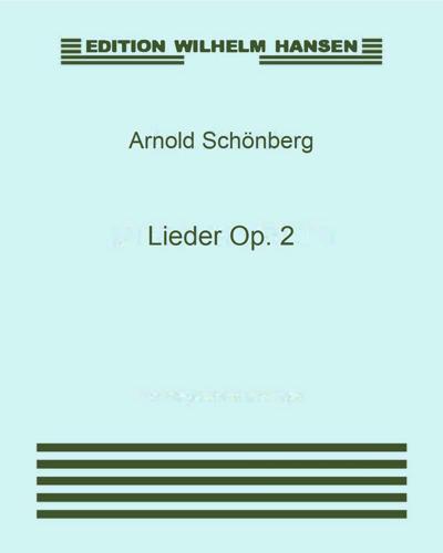 Lieder Op. 2