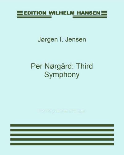 Per Nørgård: Third Symphony