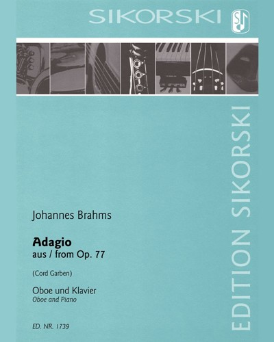 Adagio (after the Violin Concerto in D major, op. 77)