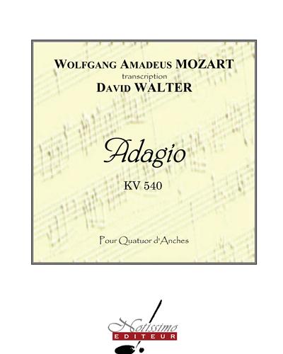Adagio pour Quatuor d'Anches, KV 540
