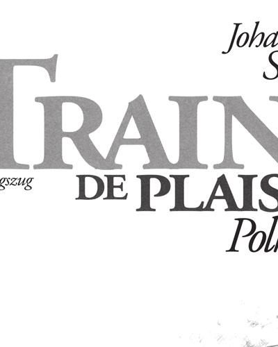 Train De Plaisir Polka pour Cor en Fa et Piano