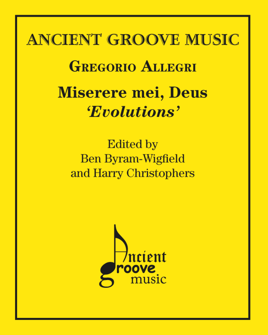 Miserere mei, Deus 'Evolutions'