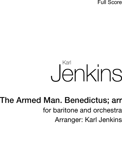 """Benedictus (from """"The Armed Man"""")"""
