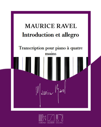 Introduction et allegro - Transcription pour piano à quatre mains