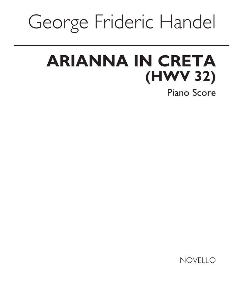 Arianna in Creta, HWV 32