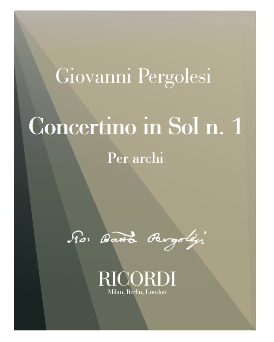 Concertino in Sol n. 1 - Per archi