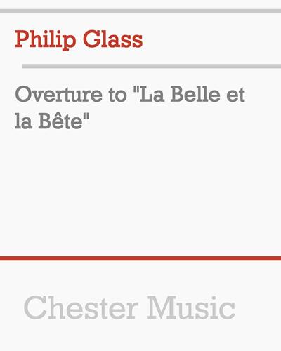 """Overture to """"La Belle et la Bête"""""""