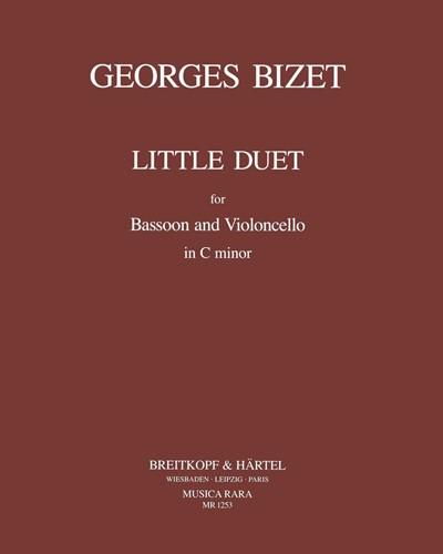 Kleines Duett in c-moll (1874)