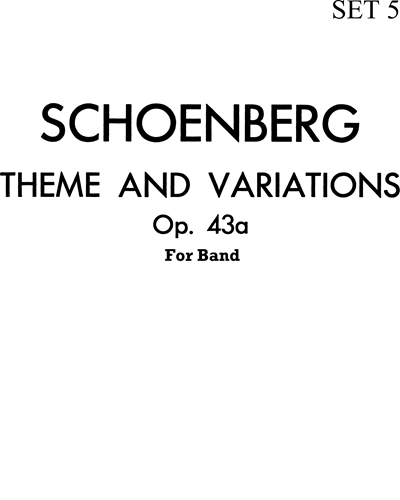 Theme and Variations for Band