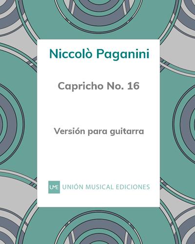 Capricho n° 16
