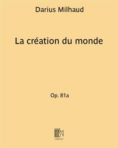 La création du monde