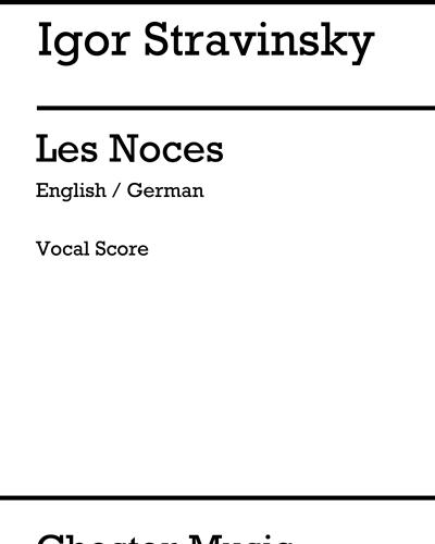 Les Noces