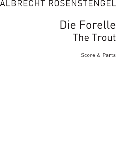 Die Forelle (The Trout) arranged for Recorder Groups