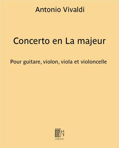 Concerto en La majeur