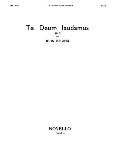 Te Deum In F