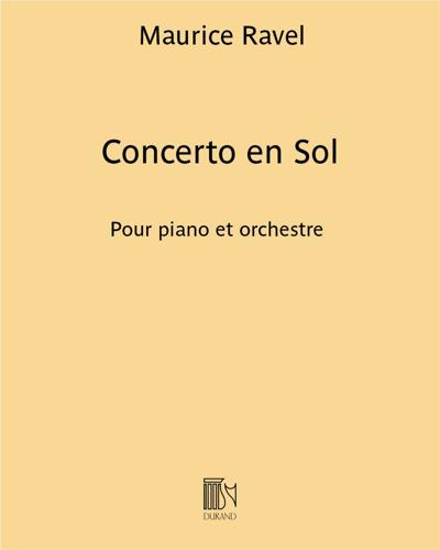 Concerto en Sol
