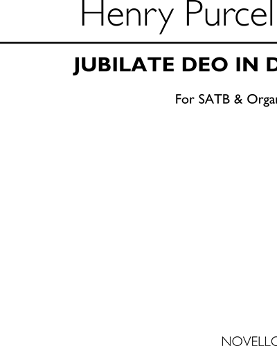 Jubilate Deo in D for SATB & Organ