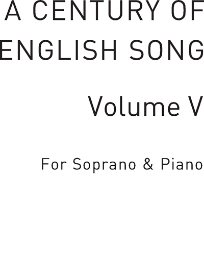 A Century of English Song, Vol. 5
