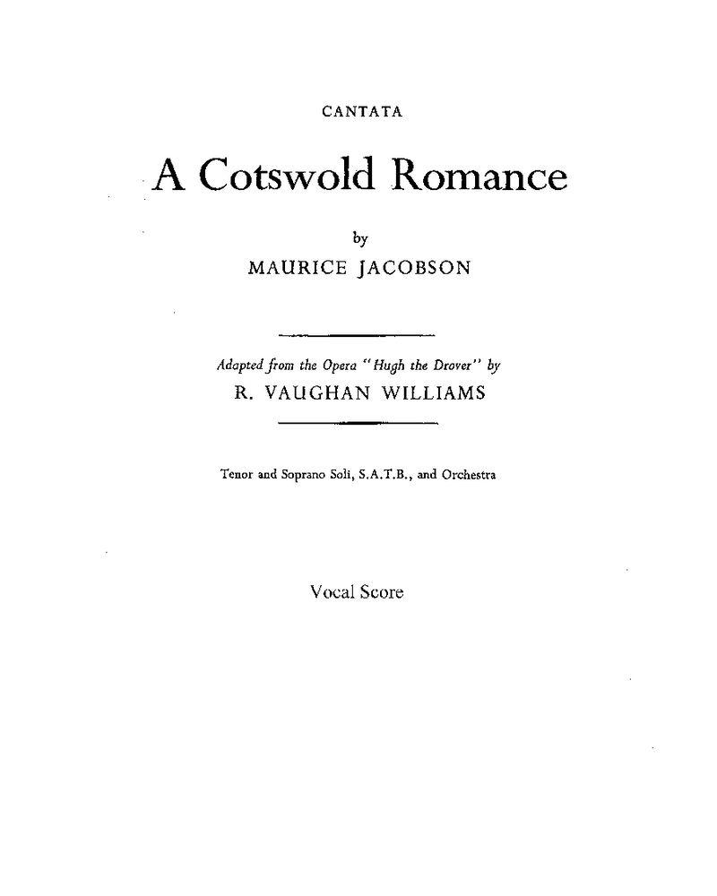 A Cotswold Romance