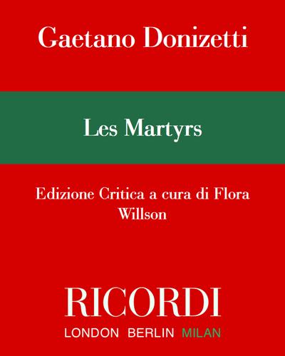 Les Martyrs - Edizione Critica