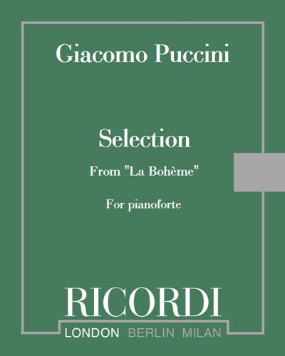 "Selection from ""La Bohème"""