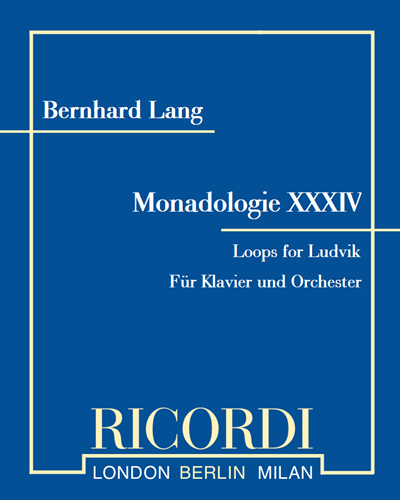 "Monadologie XXXIV ""Loops for Ludvik"""