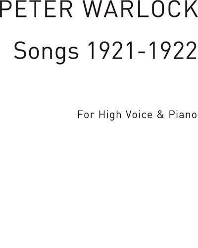 Songs 1921-1922 Vol. 3