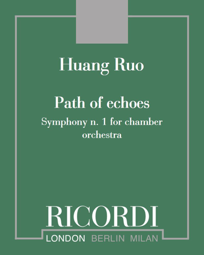 Path of echoes (Symphony n. 1 for chamber orchestra)