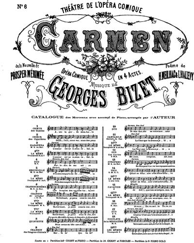 Carmen No. 6