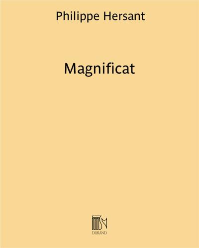"""Magnificat (extrait des """"Vêpres de la Vierge Marie"""")"""