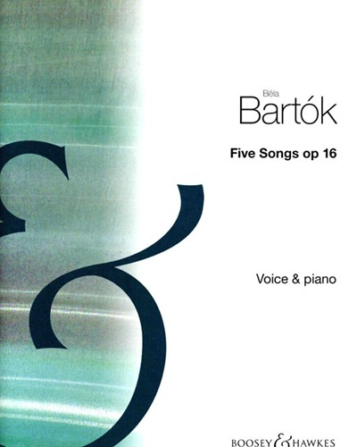 Five Songs, op. 16