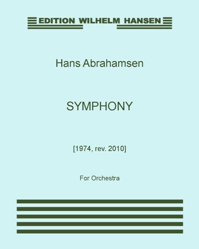 Symphony [1974, rev. 2010]