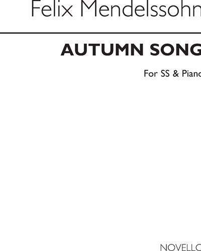 Autumn Song, Op. 63 No. 4