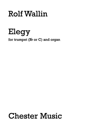 Elegy for Trumpet and Organ
