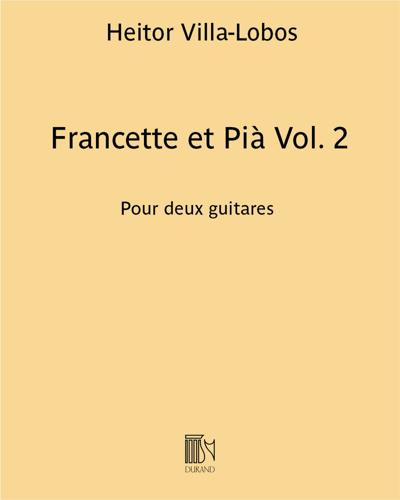 Francette et Pià Vol. 2