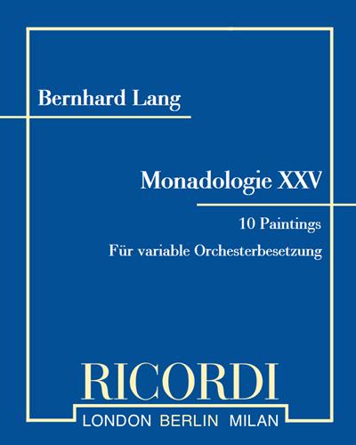 """Monadologie XXV """"10 Paintings"""""""