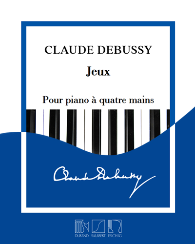 Jeux - Pour piano à quatre mains