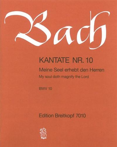 """Kantate BWV 10 """"Meine Seel erhebt den Herren"""""""