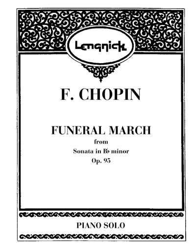 Funeral march (from Sonata  in Bb minor) Op. 95