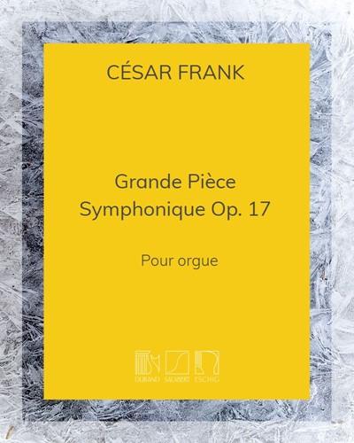 Grande Pièce Symphonique Op. 17 - Pour orgue