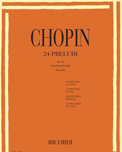24 Preludi Op. 28