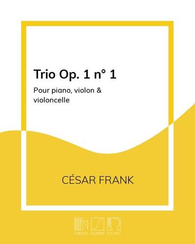 Trio Op. 1 n. 1
